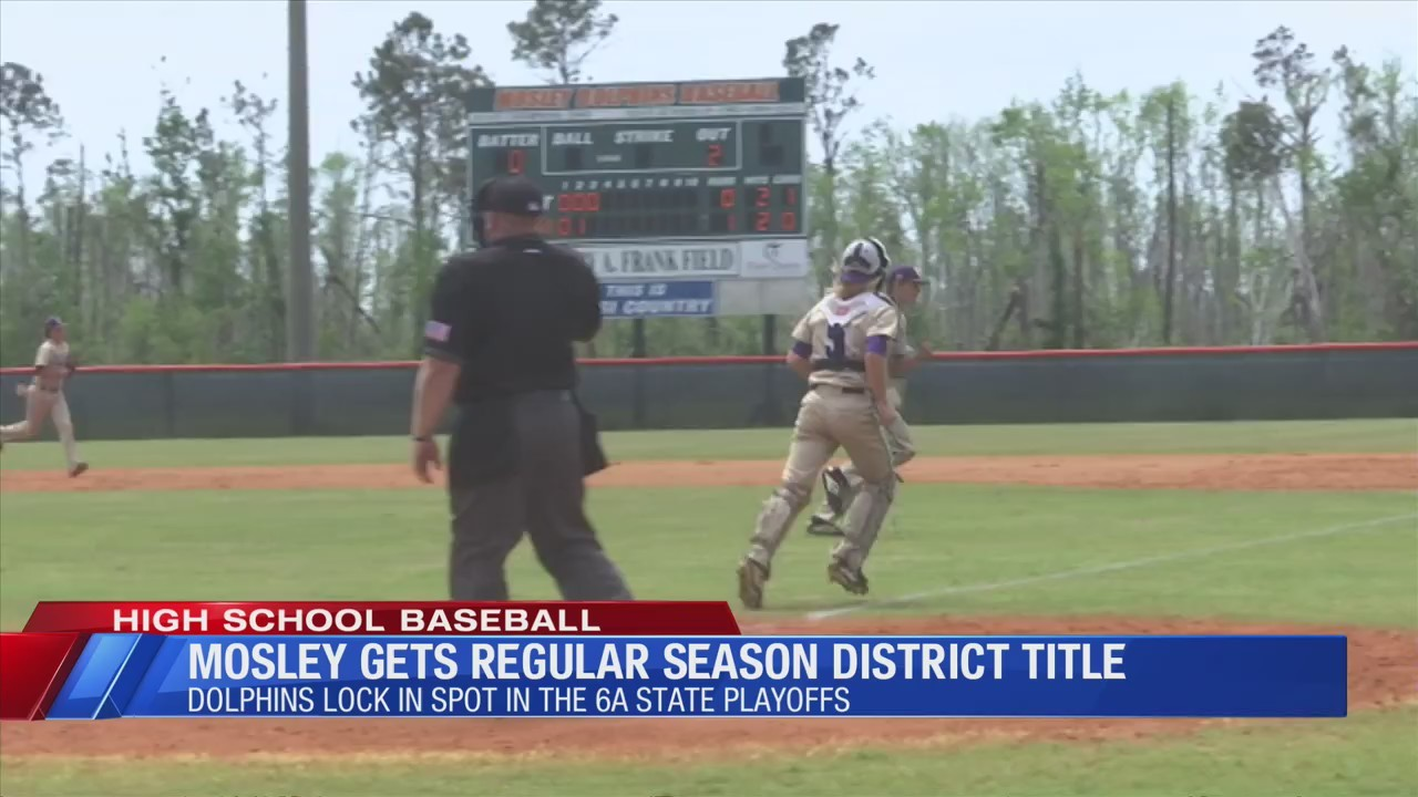 Mosley clinches regular season district title