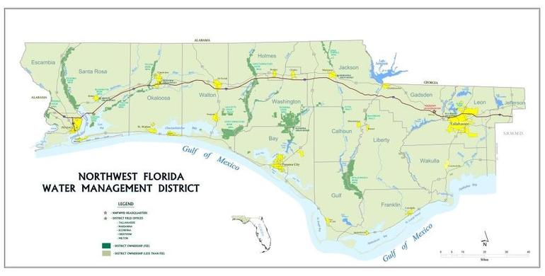 NWFL Water Management Districts