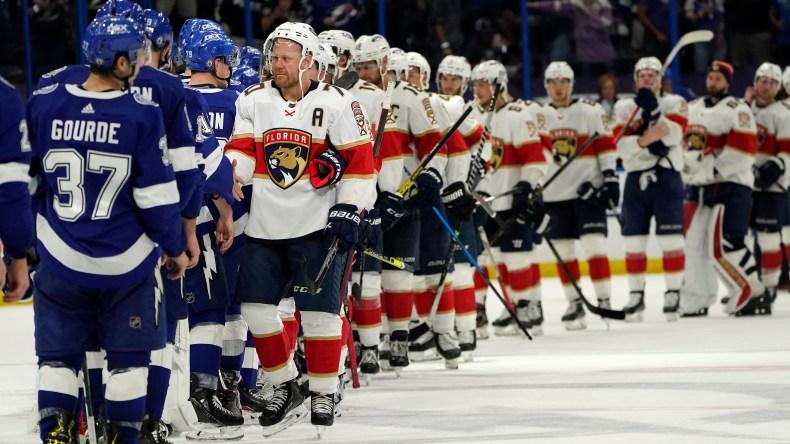 Vasilevskiy, Lightning beat Panthers 4-0 to advance | mypanhandle.com