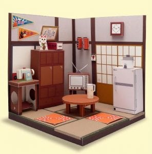 Japanese Living Room Diorama
