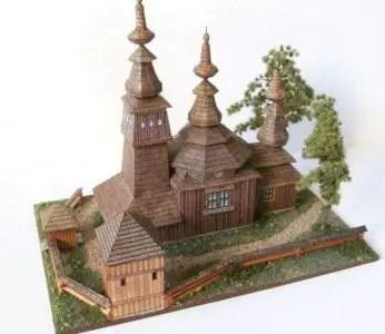 Rpg Ladomirova Paper Craft Building Model My Paper Craft