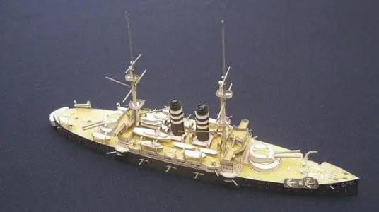 Battleship Mikasa paper craft - My Paper Craft