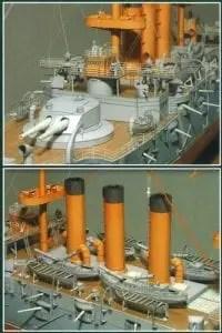IJN Shikishima Battlecraft paper model - My Paper Craft