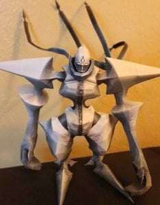 Kingdom Hearts Twilight Thorn Papercraft