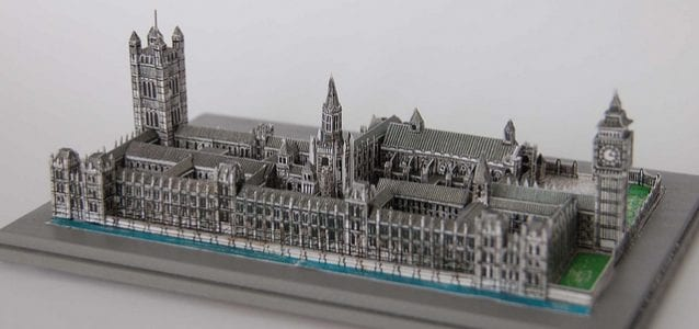 The Palace Of Westminster Model Papercraft My Paper Craft