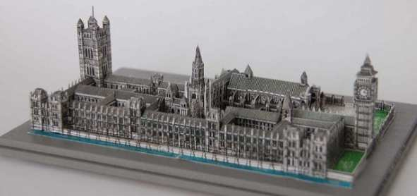 The Palace of Westminster Model Papercraft - My Paper Craft