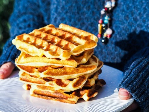 Gaufres French Waffles