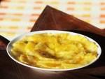 Carpaccio d'ananas au citron vert et au gingembre
