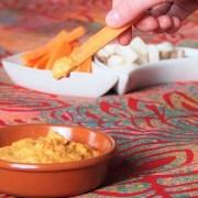 Sauce apéritif dip aux poivrons