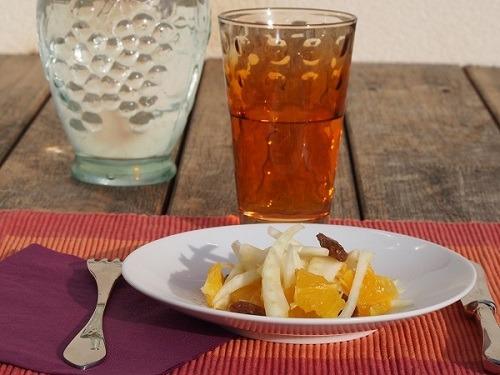 salade de fenouil l'orange