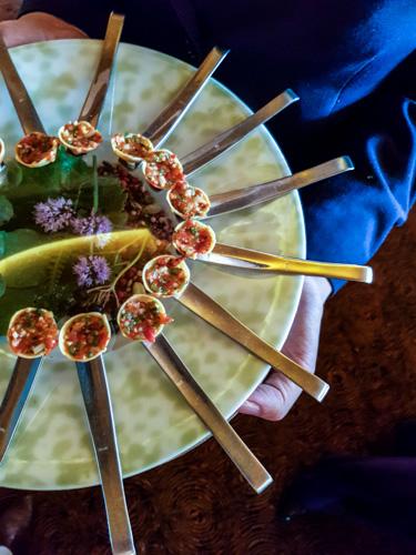 Restaurant étoilé Pierre Gagnaire Paris amuses bouche