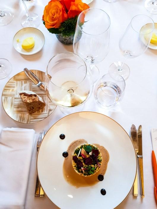 Restaurant Taillevent poireaux en croûte de truffe