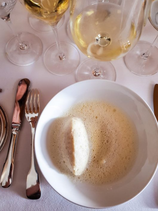 quenelle de quinoa blanc Tipiak à l'Arpège