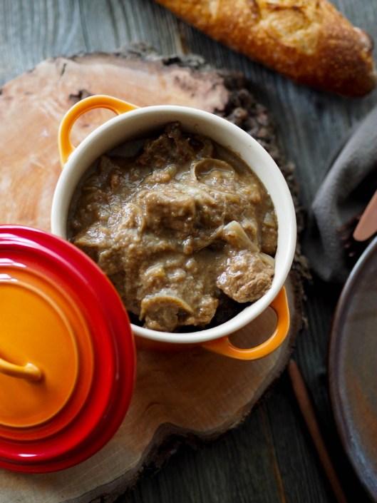 Carbonade Northen France beef stew cooked in beer