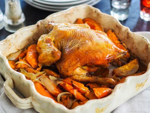 poulet roti a la patate douce my parisian kitchen