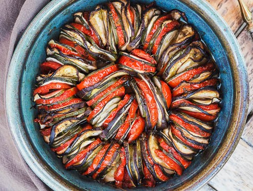 Tian provençal de légumes d'été