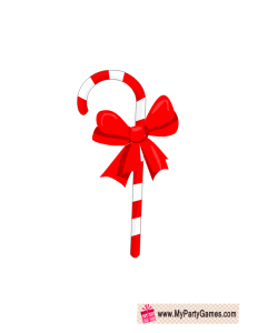 Free Printable Candy Cane Christmas Photo Booth Prop