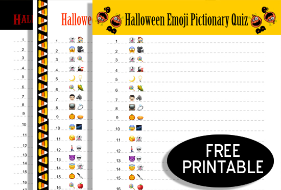 free halloween party games printables # 5