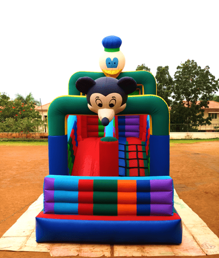 Book bouncy castle for birthday party in Bangalore