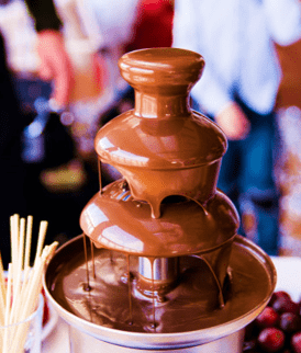 Chocolate Fountain for kids birthday party in Bangalore