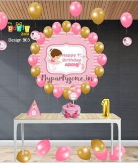 Ballerina decoration theme party box