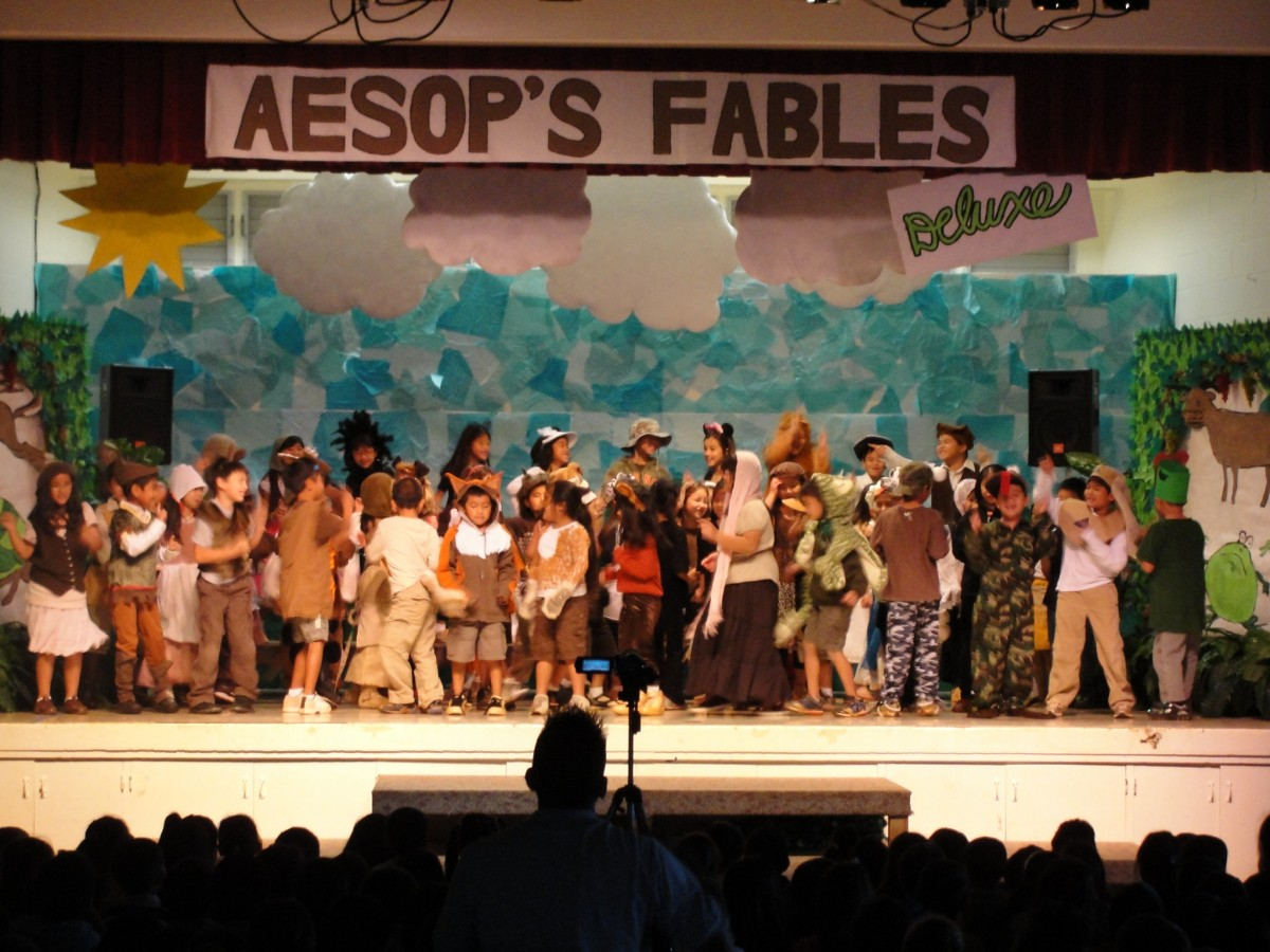 Momilani Elementary Presents Aesop S Fables Deluxe Mypearlcity