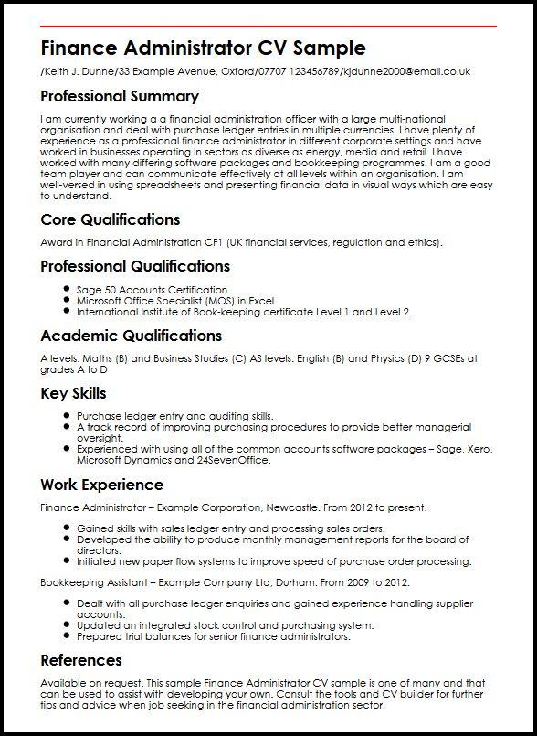 Accounting Cv Writing Service Cv Writing Service For Accountancy Professionals City Cv