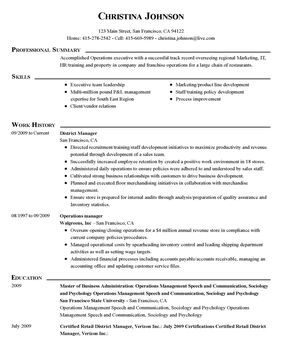 Perfect Resume Examples - Resume Sample