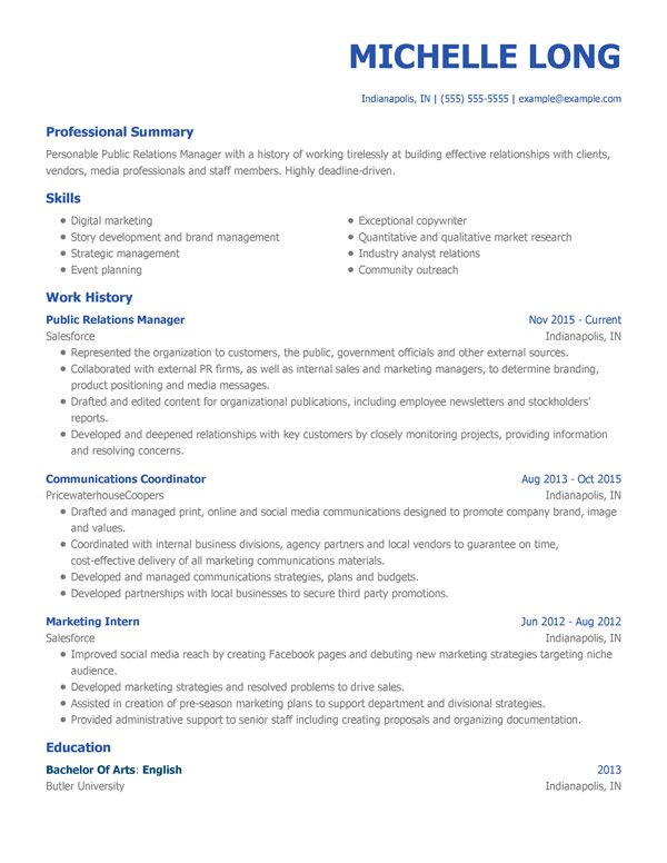 Resume With Our Free Templates For 2020