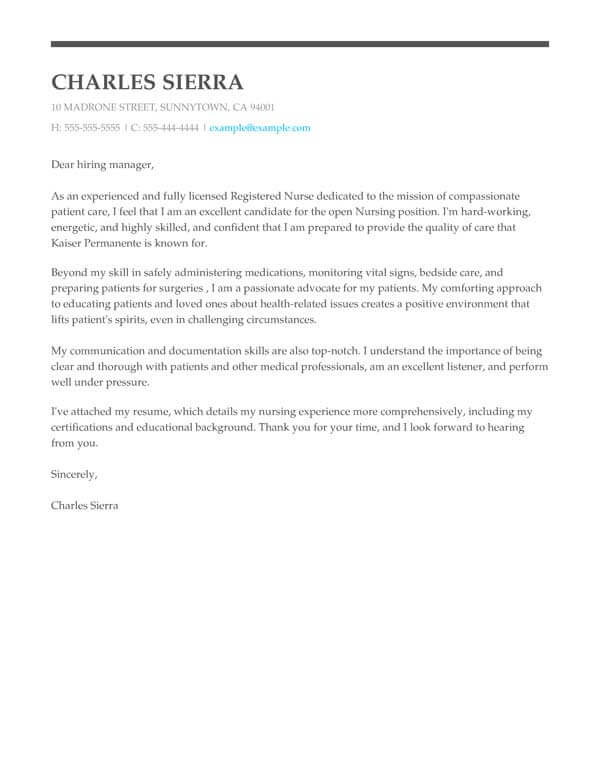 Perfect Cover Letter Templates For 2021 Myperfectresume