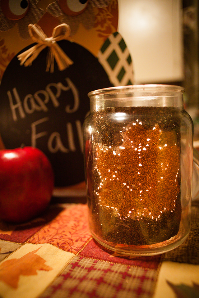 Upcycled Maple Leaf Candle Jar Inspired by American Home™ by Yankee Candle®