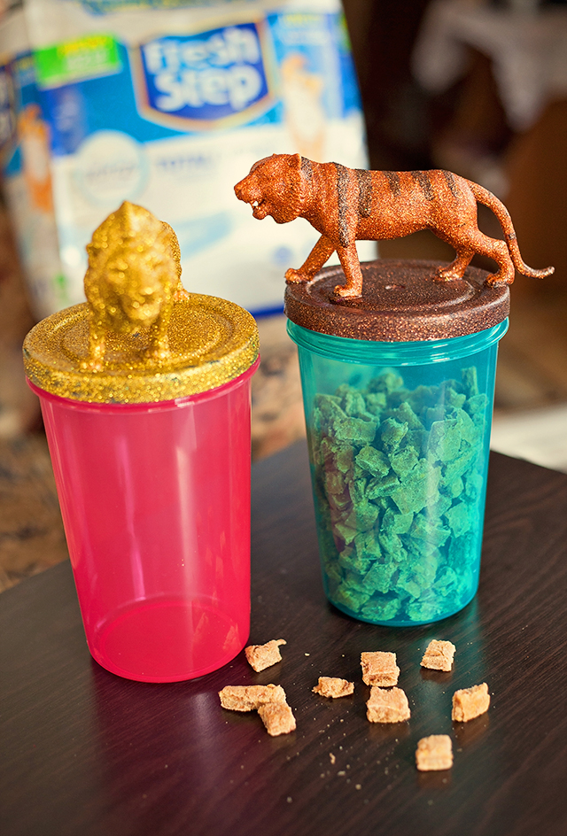 Make the Purrfect Cat Treat Jars & Treats