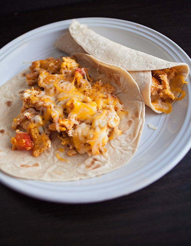 Low Carb Breakfast Tacos