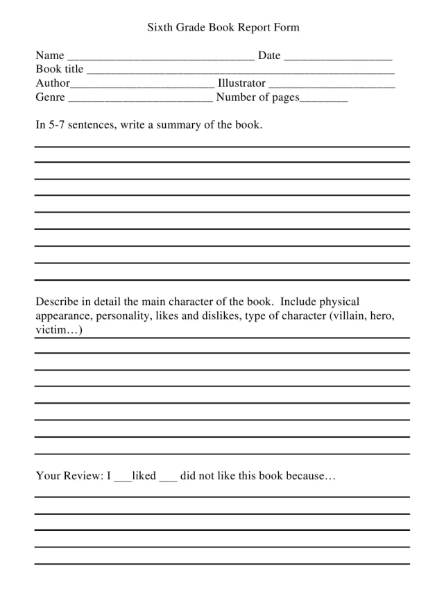 How to Write a Book Report - A Guide for All Academic Levels