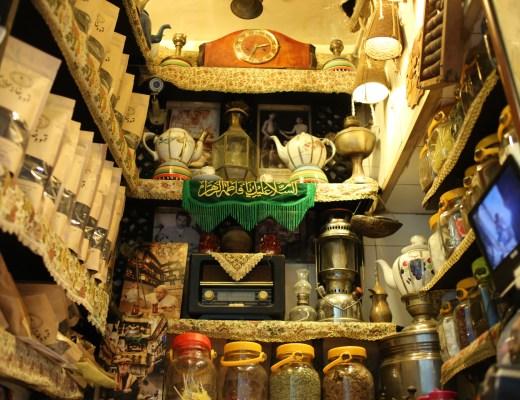 Haj Ali Darvish Teahouse is the tiniest teahouse in Tehran