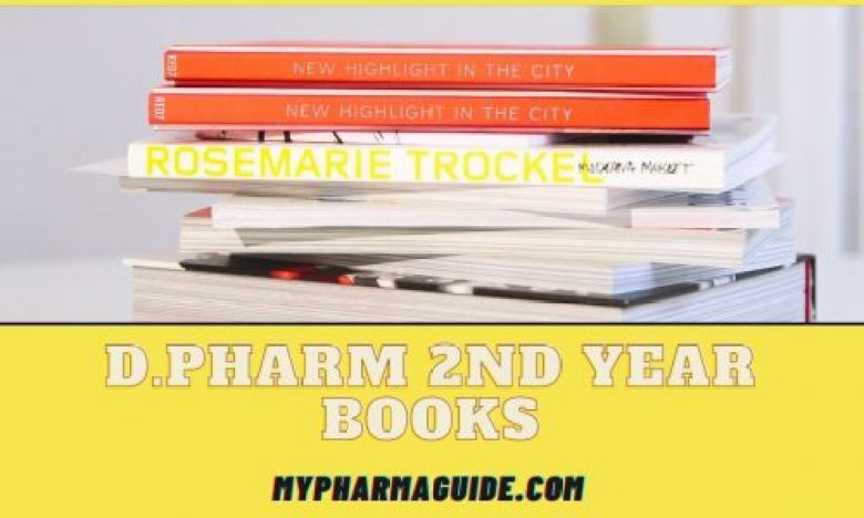 Helpful D.Pharm 2nd Year Books Free Download