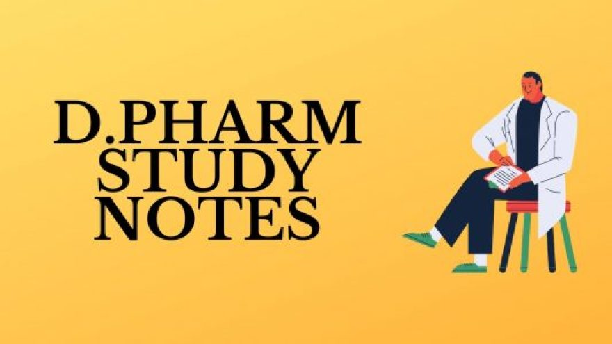 Best D.Pharm Notes Free Download - 2020