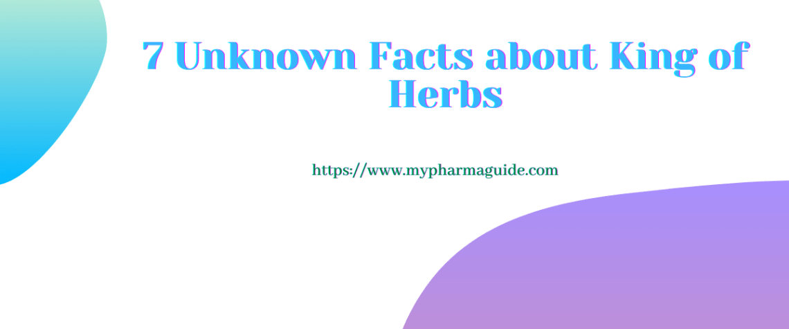 7 Unknown Facts About King of Herbs: Ganoderma