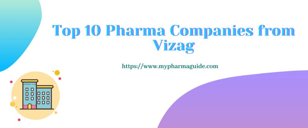Top 10 Pharma Companies from Vizag
