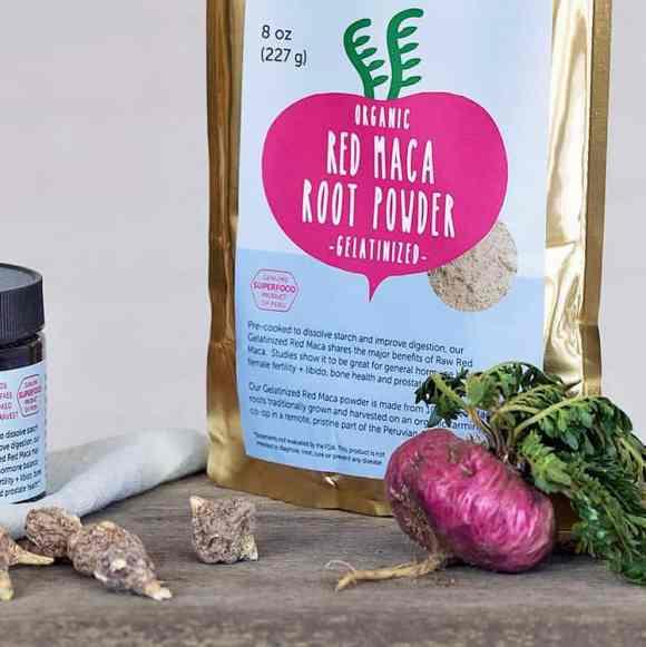 best red maca powder