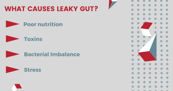 causes of leaky gut