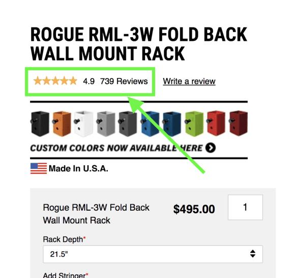 Rogue Wall Mounted Rack Reviews