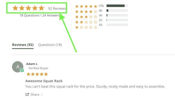 Fringe Squat Rack Reviews