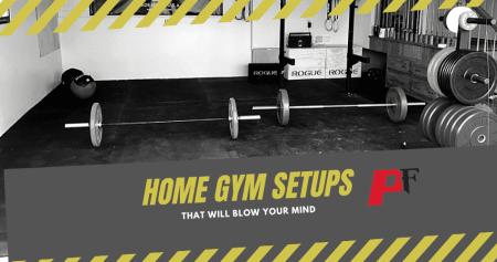 home gym setups