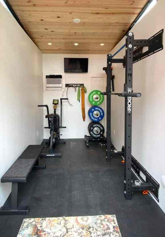 Home Gym Shed