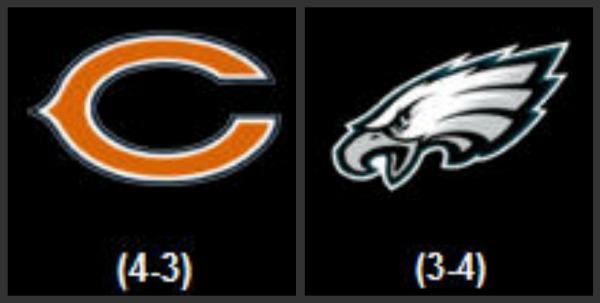 Football 2013 Philadelphia Bears Eagles Vs