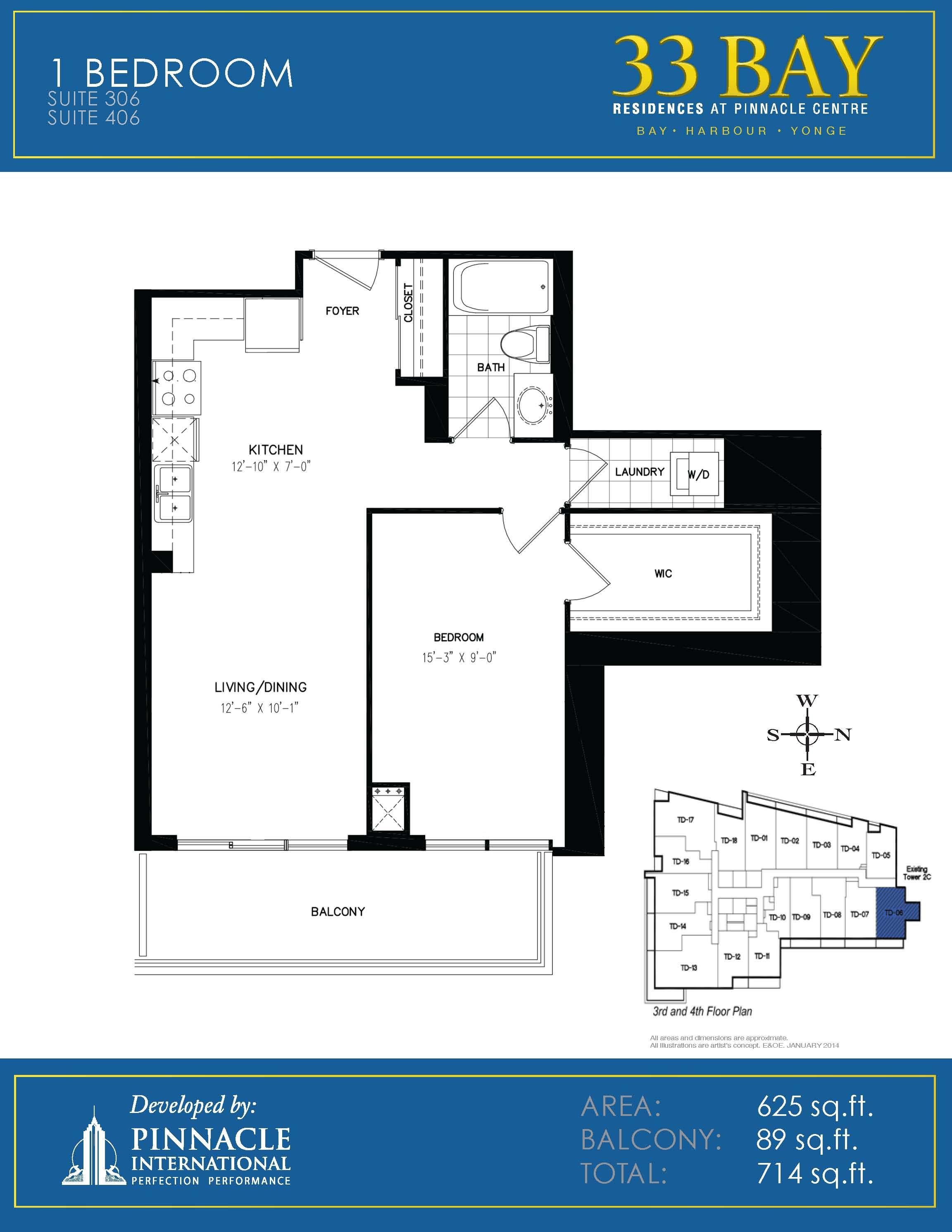 Floor plans for 33 bay residences pinnacle centre at 12 for 16 yonge street floor plans
