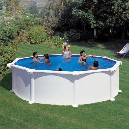 piscine hors sol atlantis o480 h132 cm filtre a sable