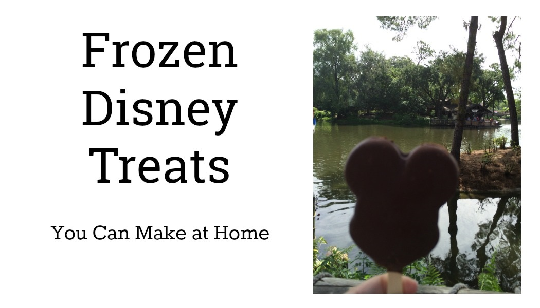 Frozen Disney Treats You Can Make at Home | AlwaysMovingMommy.com | Bring a little magic home with these frozen Disney treats.