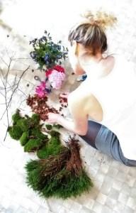 dekorering med blomster